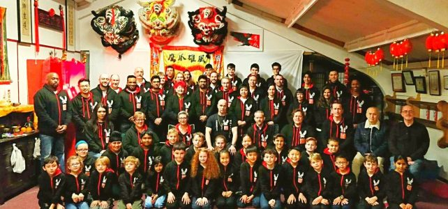 Eagle Claw Kung Fu School Annual Chinese New Year Party