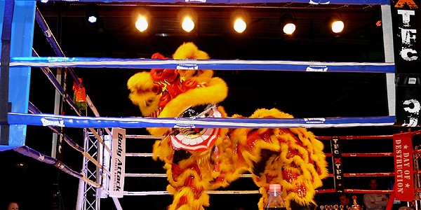 "Lion Dance at ""Day of Destruction 7"" in Germany"