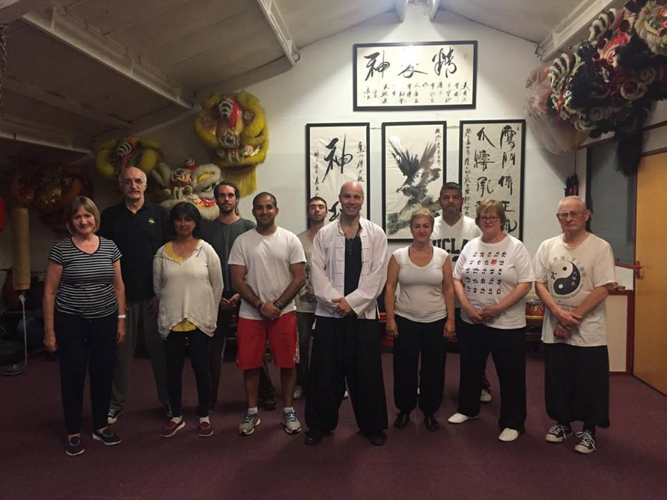 SiFu Dale, SiHing Joe, SiJia Jan with Jatinder Fit For Life Activator and participants.