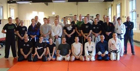 Seminar at Royal Air Force Martial Arts Association