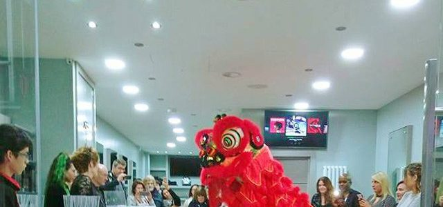 Lion Dance for Grand Opening in Maidenhead
