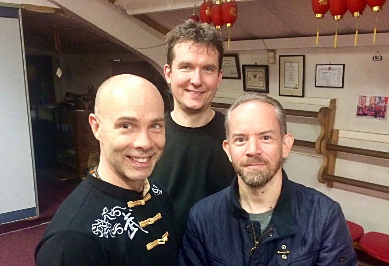 SiFu Julian Dale, Dai Si Hing Stuart Keating and Christian Kubiak