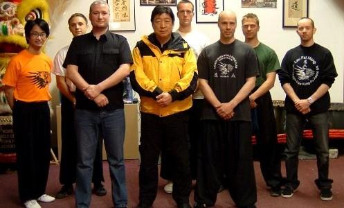 Seven Star Praying Mantis Master Tse Wing Ming