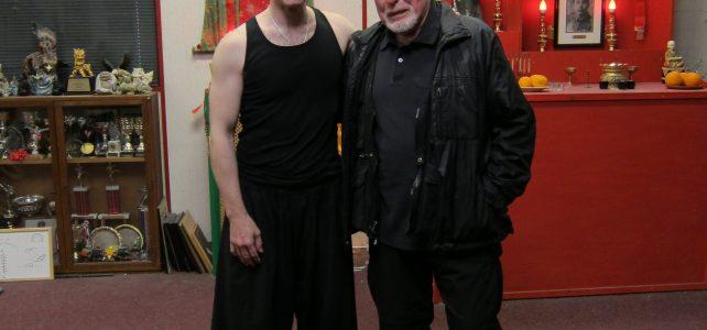 Ken Delves LaoShi visits Eagle Claw Kung Fu School