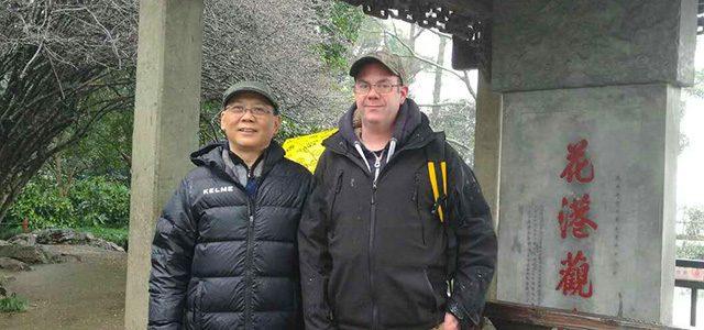 Coach Matt Beddows visits HangZhou China