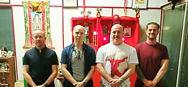 Pak Mei ShiFu Dave Stevens visits Eagle Claw Kung Fu School